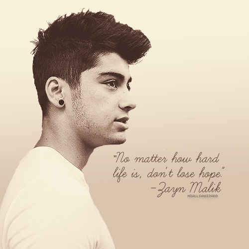 Zayn Quotes About Love : zayn malik one direction 1d quotes 3 large Quotes