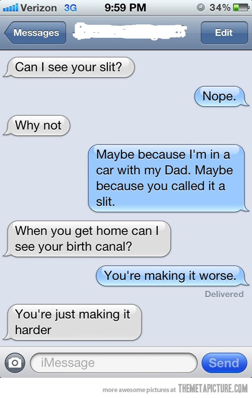 Group of Funny Text Message