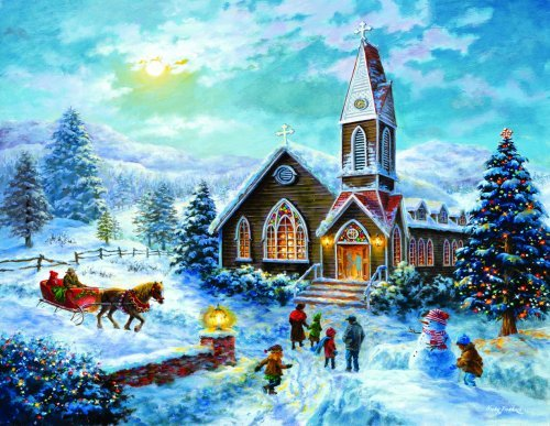7741_parents_pray_children_play_jigsaw_puzzle_lg_large