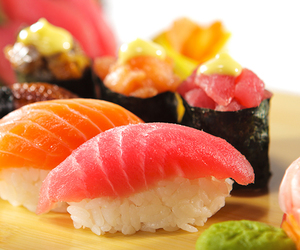 sushi is good for health