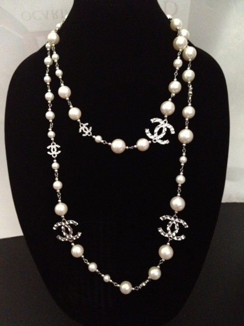 Chanel Inspired Pearl Necklace We Heart It Coco