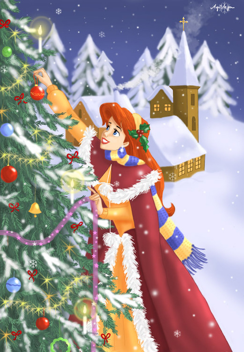 Ariel__s_christmas___update_by_agivega_large