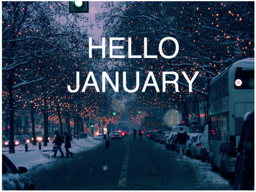 Hello January