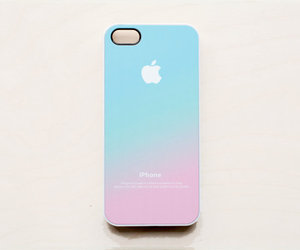 ombre pastel pink blue