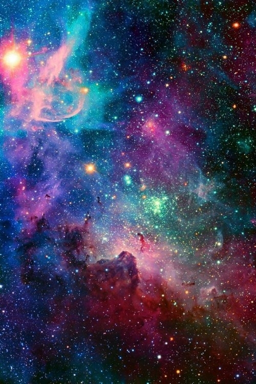 colorful galaxy tumblr quotes - photo #47