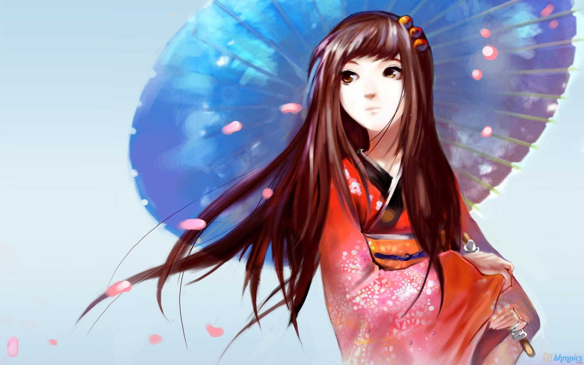 Japanese anime girl wallpaper we heart it anime - Cute asian cartoon wallpaper ...