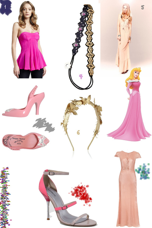 Cool Girls Closet: What Would Princess Aurora Wear Today