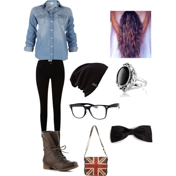 Hipster Girl Outfits Polyvore Hipster outfit (with h...