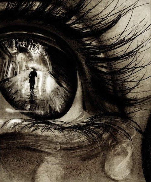 ojo persona paraguas dibujos pinterest eye