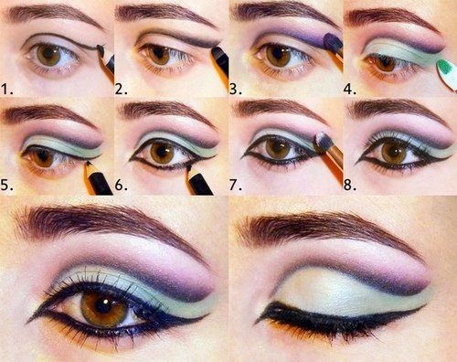 To Eye Makeup Step By Step With Pictures on Pinterest : Step by step ...