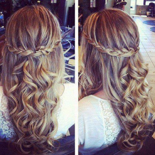 braid, double sided waterfall braid, hair, hair and makeup, hair ...