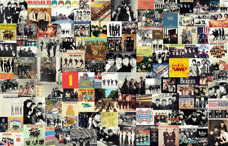 The Beatles Collage By Taylan Soyturk By Dans Avec Les