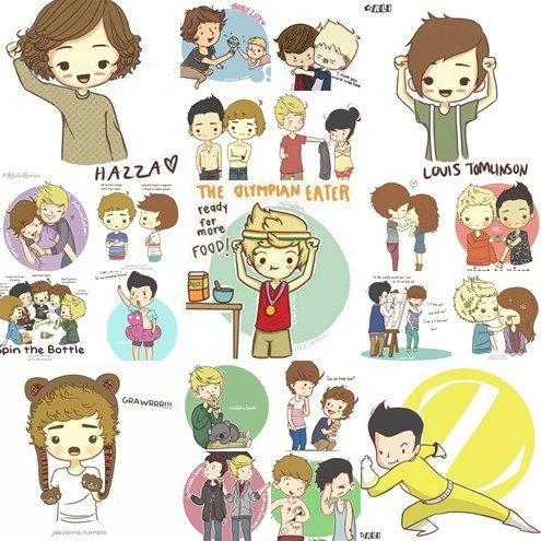 Caricaturas De One Direction | We Heart It