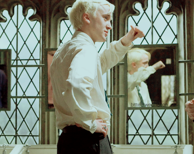 You hit me with lightning. ft Draco Malfoy