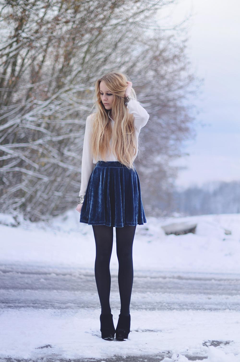 Фотографії блондинок і зима 16 фотография