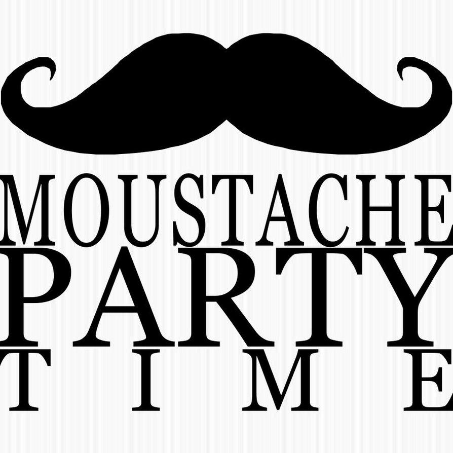 Moustache party time! | We Heart It | party