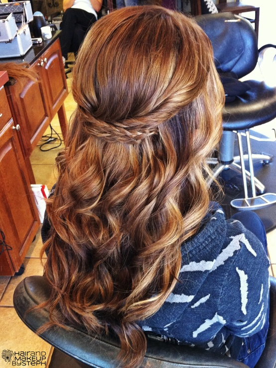 Amazing Braided Half Up Hairstyle We Heart It Hair Braid And Brunette Hairstyle Inspiration Daily Dogsangcom