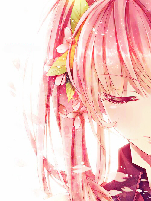 Pink anime girl, pink hair, cute, pretty | I'm an Anime ...