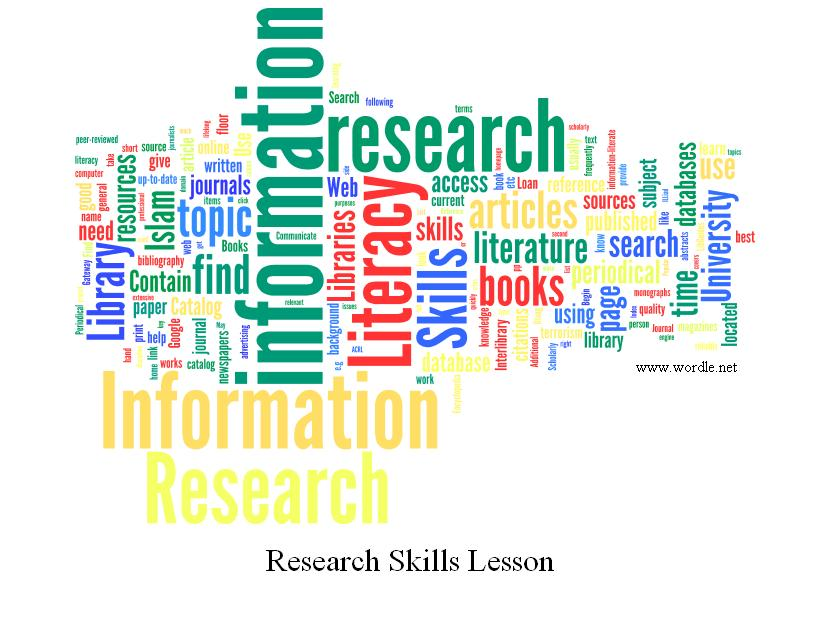 Research paper emergent literacy