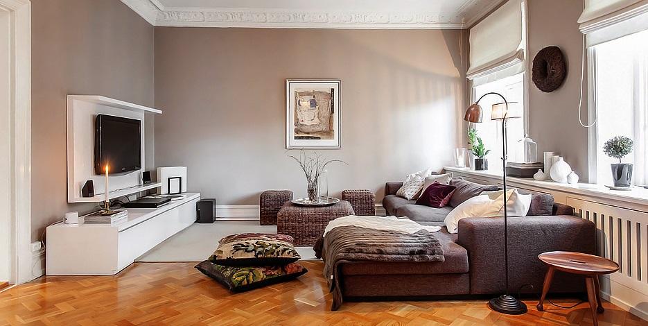 Swedish style home interiors