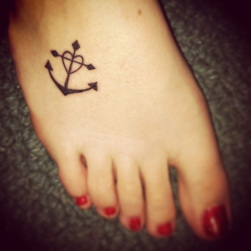 Faith Hope Love Anchor Tattoo http://weheartit.com/entry/50998591