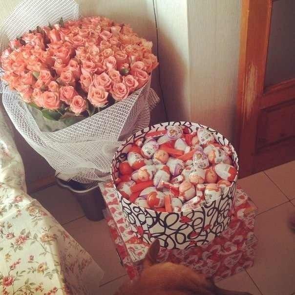 Подарок девушке от парня