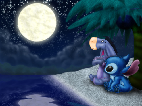 Stitch__eeyore_and_the_moon_by_the_panpiper_large