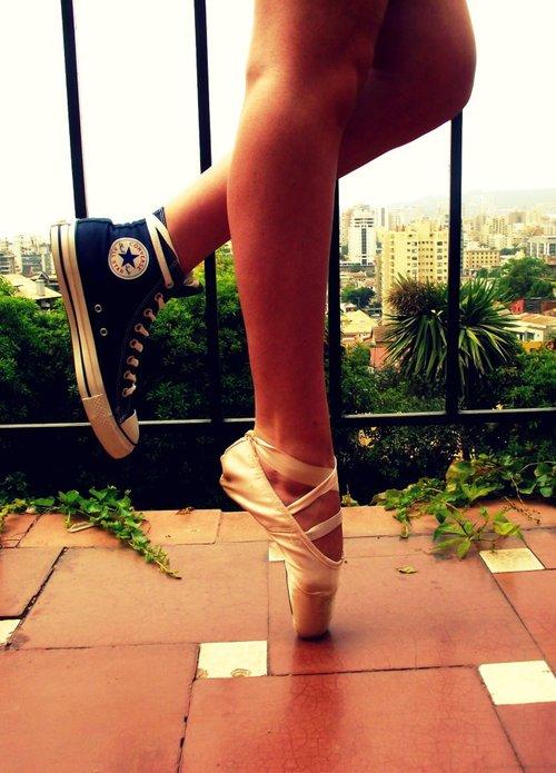 ballet converse