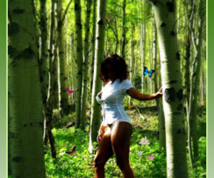 ebony forest sexy