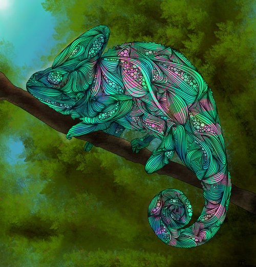 Jackson Chameleon Tattoos: Welcome To Idressmypets.com - The Cutest