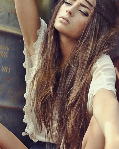 Light brown hair color | Glam Bistro on We Heart It