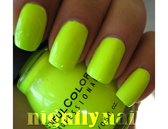 Neon Yellow Nails discovered by scarlett :) on We Heart It