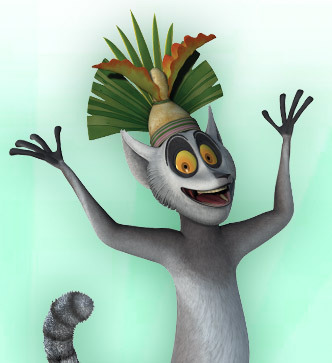 King Julien from Penguins of Madagascar | Cartoon | Nick.com
