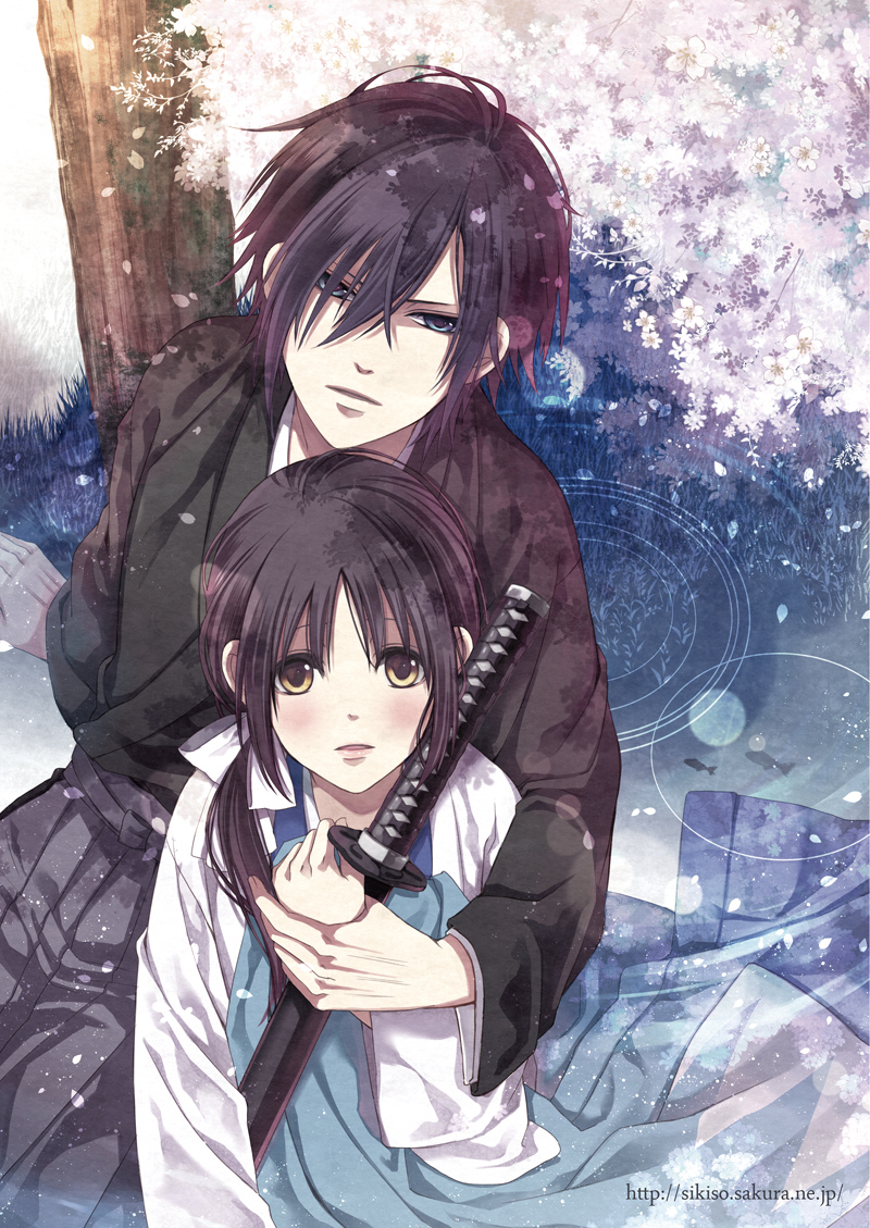 Saitou chizuru hakuouki anime couples we heart it - Image manga couple ...