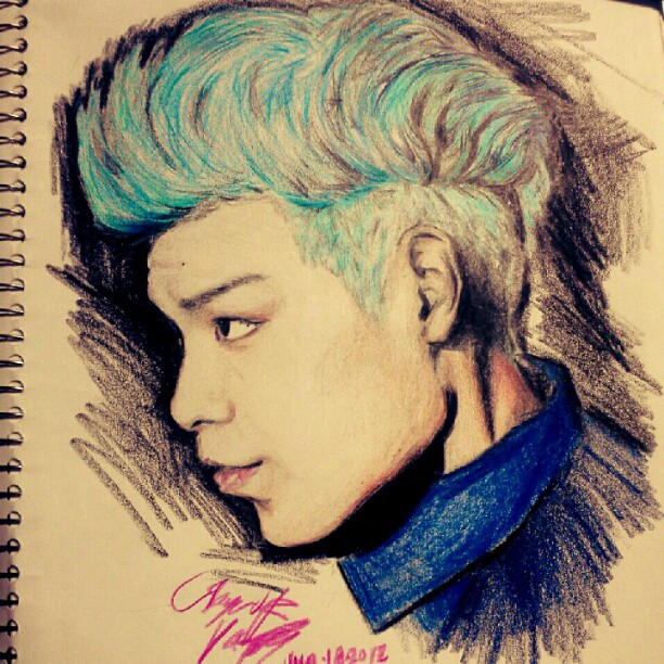 Top Bigbang Drawings Group of T.o.p Drawing | we