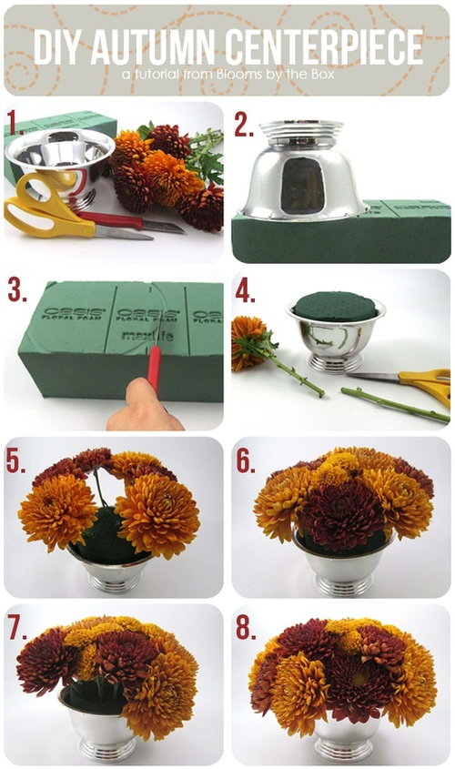 DIY Autumn Centerpiece DIY Projects | UsefulDIY.com