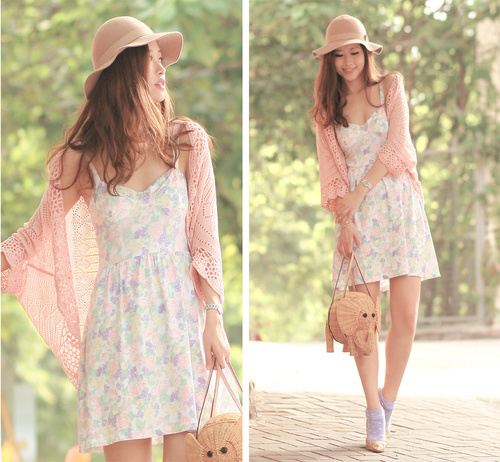 Pink-cardigan-with-pink-pastel-dress-cute-_large
