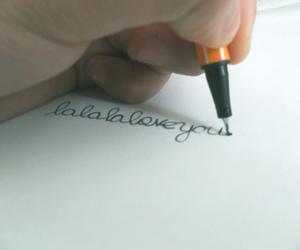 lala love you pen nice