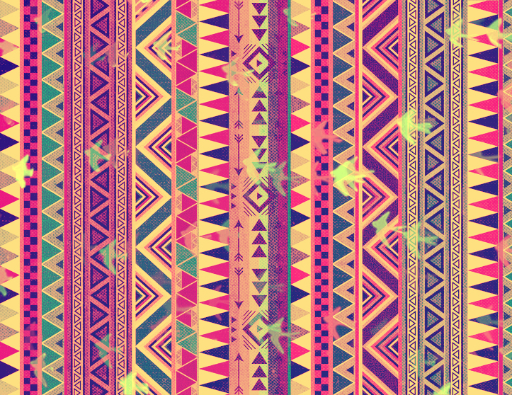 Aztec tribal background | We Heart It | background, colors ...