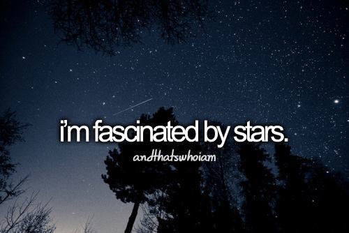 fascinate, fascinated, stars - inspiring picture on Favim.com