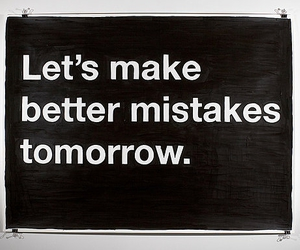 mistakes
