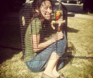 cage bird girl one