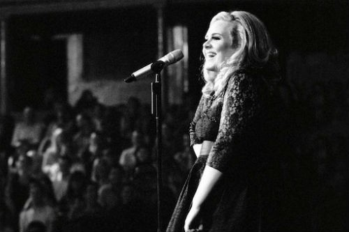 Music saves my soul. / adele-Llve-at-the-royal-albert-hall.