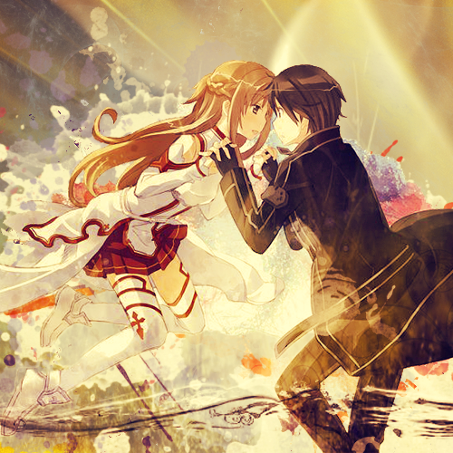 Asuna_and_kirito___sword_art_online_by_jonatking-d5e65w6_large