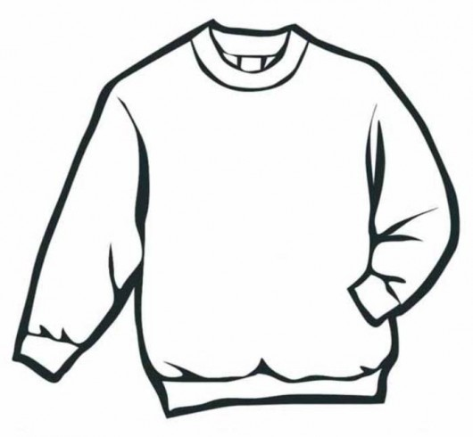 Sweater Winter Clothes Coloring Page | Free Coloring Pages ...