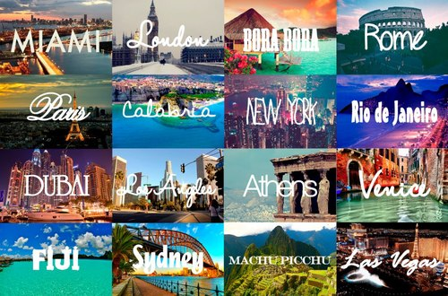 Travelling Bucketlist | via Facebook