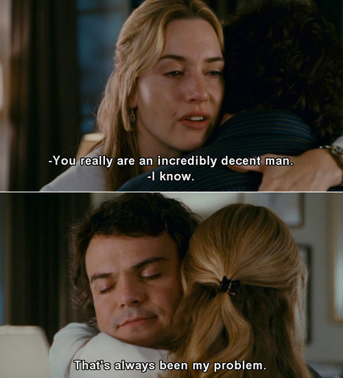 The Holiday (2006) Quote (About decent, love, man)