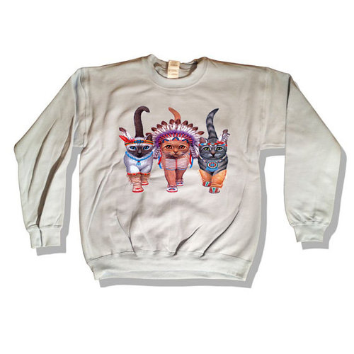 il 570xN.436270175 phz2 large Native American Indian Cats Sweater by MindfulWear on Etsy