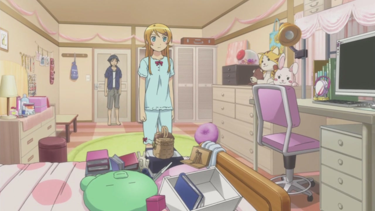 Oreimo 1 Kirino Chan And Kyousuke 3 Flickr