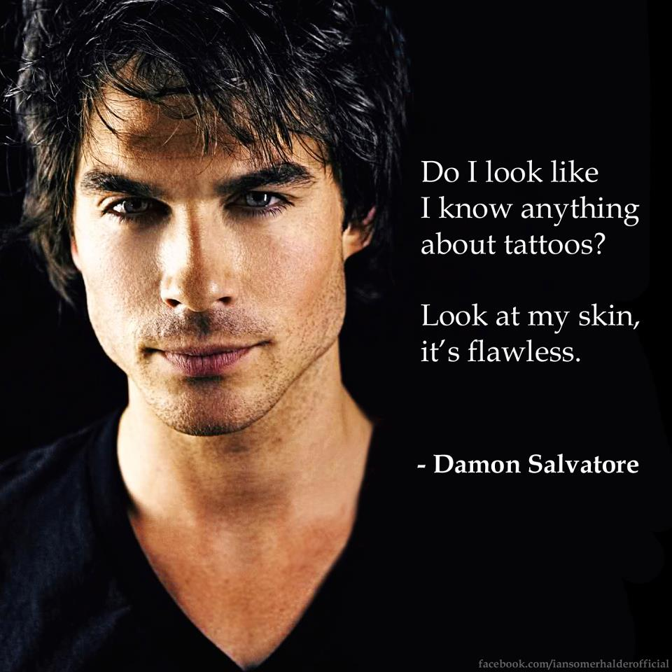 Quotes From Vampire Diaries Vampire Diaries Damon Quotes